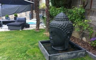 großer Buddha Brunnen