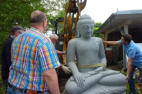 Buddha Steinfigur