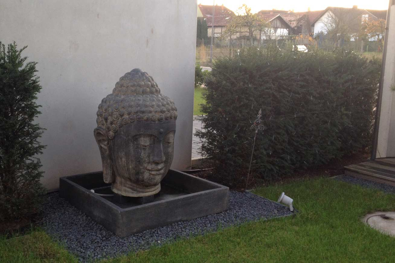 Buddha Brunnen Steffen Haag