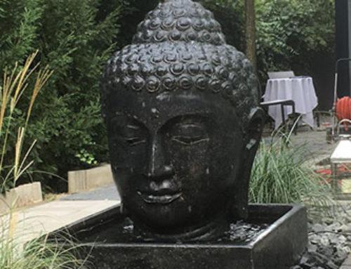 Buddha Brunnen komplett Set mit 100cm Kopf