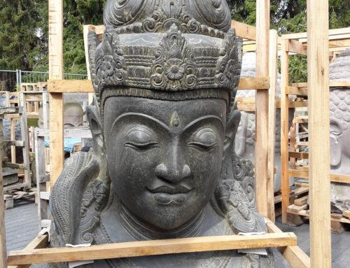 Dewi Büste im Antik Look – Art.Nr: DB-160-1-RSA