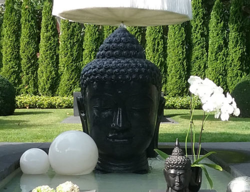Buddha Brunnen Kopf 150 cm