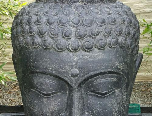 Buddha Brunnen Kopf 100 cm hoch