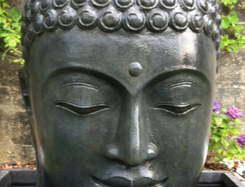 Buddha Brunnen Kopf 125 cm hoch