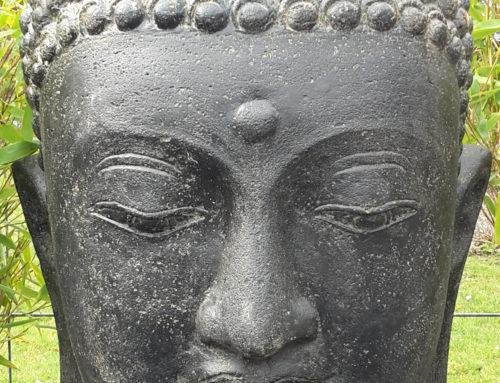 Buddha Brunnen Kopf 75 cm hoch