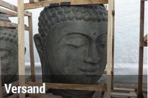 Große Buddha Figuren für den Garten - Balibuddha