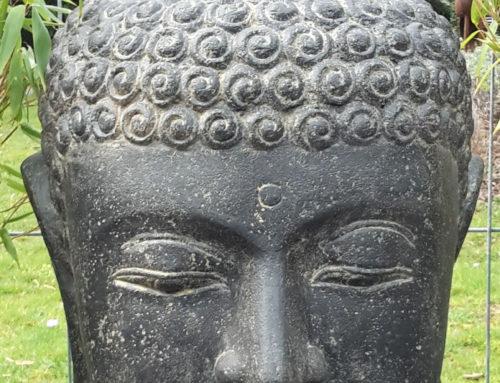 Buddha Brunnen Kopf 55 cm hoch