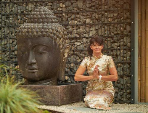 Buddha Brunnen mit 125 cm Buddha Kopf