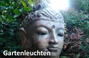 Balibuddha Gartenleuchte