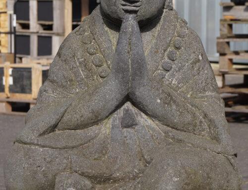 Shaolin Mönch aus echter Lava
